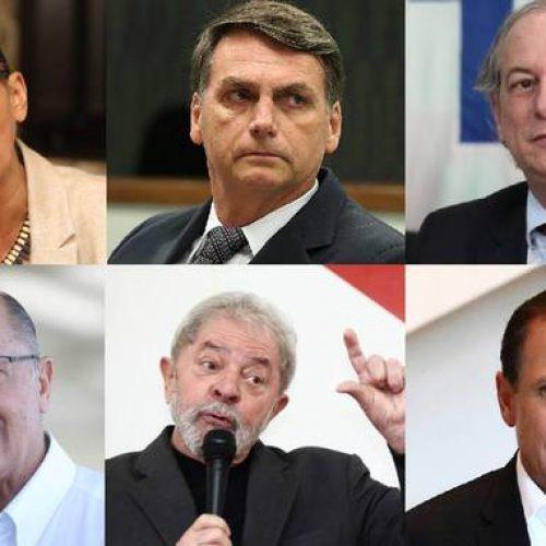 Datafolha: após condenação, Lula mantém entre 34% e 37% das intenções de voto