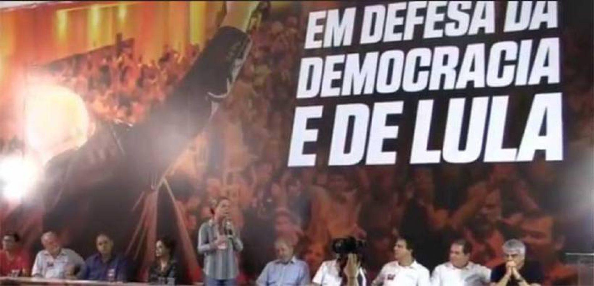 PT lança a pré-candidatura de Lula à presidência da República
