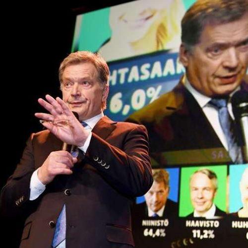 Sauli Niinistö é reeleito presidente da Finlândia no primeiro turno