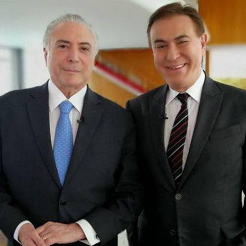 Temer vai a programas de Amauri Jr., Silvio e Ratinho para tentar popularizar reforma