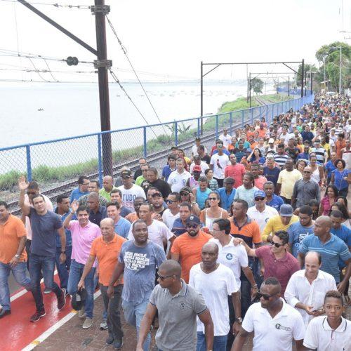 Via entre Itacaranha e Plataforma é mais um trecho requalificado da orla
