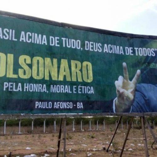 Vice-presidente do TSE, Luiz Fux libera outdoors de Bolsonaro em Paulo Afonso