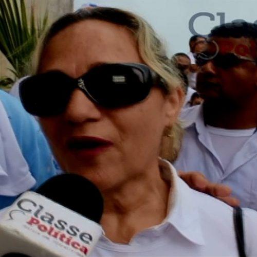 Prefeita de Nazaré das Farinhas participa da Lavagem do Bonfim e faz convite para a Feira do Caxixis ; assista