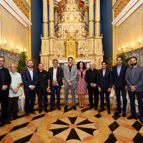 Prefeito ACM Neto participa de entrega da Igreja do Passo completamente recuperada