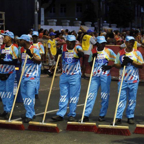 Limpurb recolhe 715,8 toneladas de resíduos durante Carnaval de Salvador