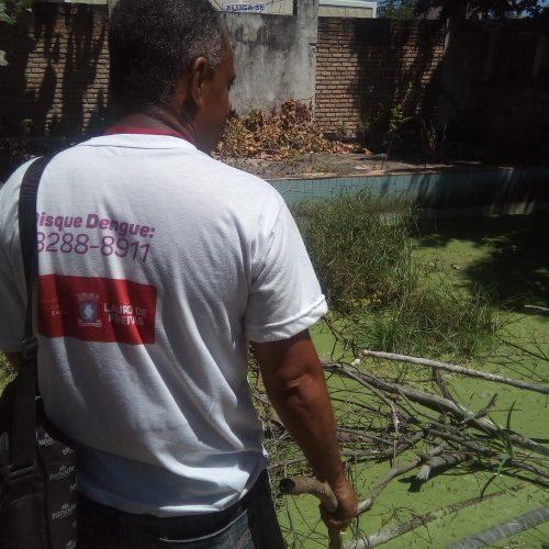 Equipes do CCZ reforçam combate a focos do aedes aegypti em Lauro de Freitas