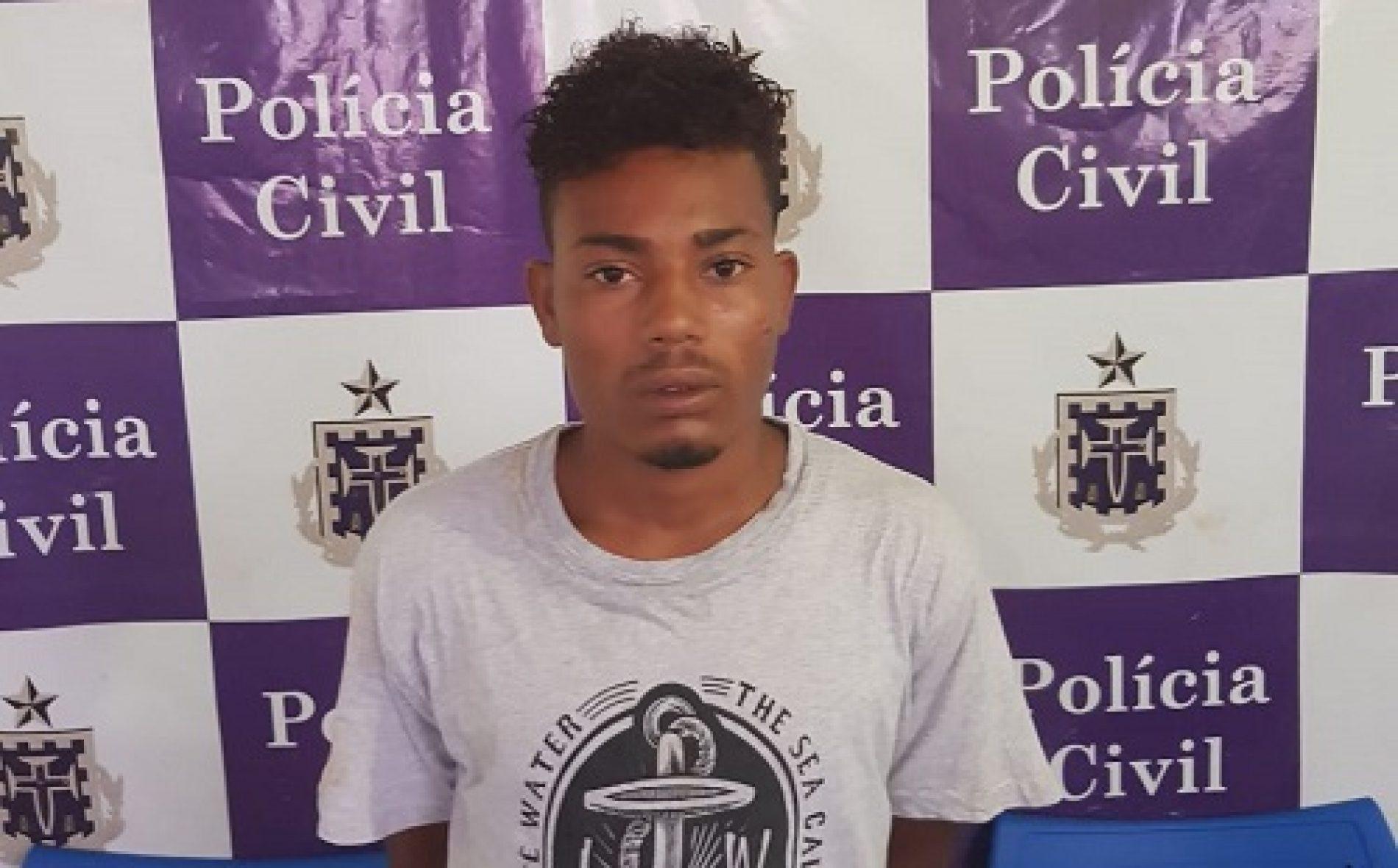 Barra do Rocha: Acusado de homicídio é preso ao buscar identidade na delegacia