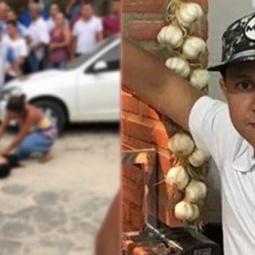 Contador é morto a tiros na porta da loja da esposa em Teixeira de Freitas