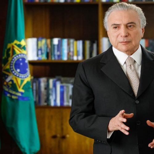 Em pronunciamento, Temer diz que intervenção vai restabelecer a ordem no Rio