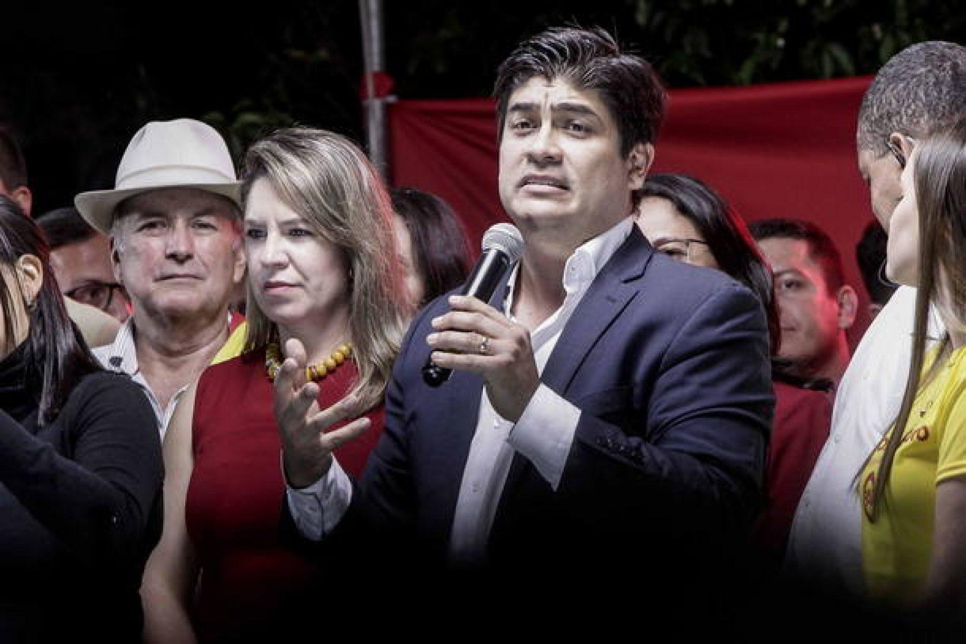 Evangélico e governista irão a segundo turno na Costa Rica
