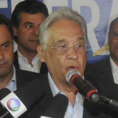 FHC diz que seria bom Lula disputar eleições, mas que é preciso cumprir as leis