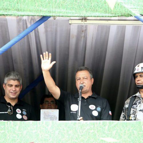 Rui destaca empenho policial no encerramento da operação de Carnaval
