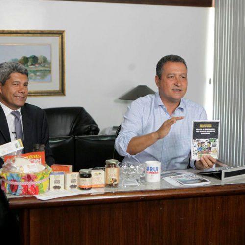 Rui anuncia editais com R$ 98 milhões para agricultura familiar