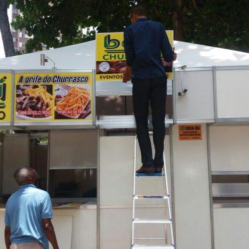 Prefeitura combate publicidade irregular no primeiro dia do Carnaval