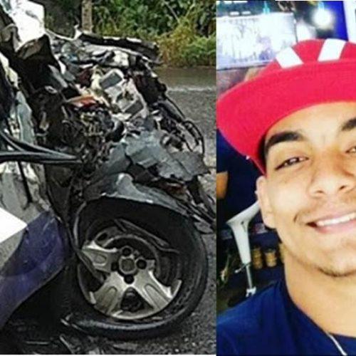 Motorista morre preso às ferragens após colisão na BR-101, em Camacan