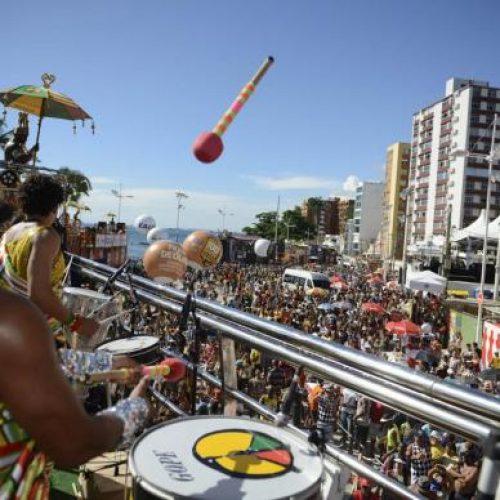 Olodum sai neste domingo no carnaval de Salvador; confira programação completa