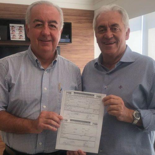 Secretário estadual de Infraestrutura, Marcus Cavalcanti se filia ao PSD