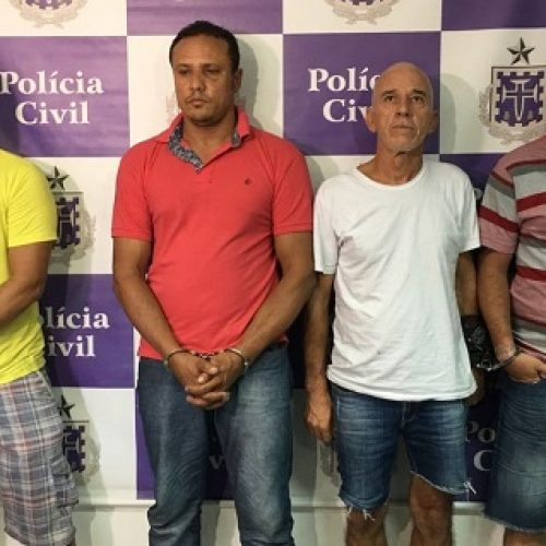 Sequestradores do ex-prefeito de Valença foram presos quando dividiam valor do resgate