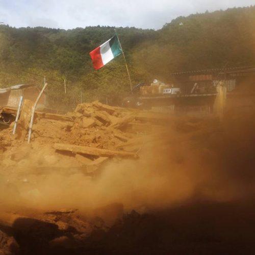 Terremoto de 7,2 graus atinge centro e sul do México