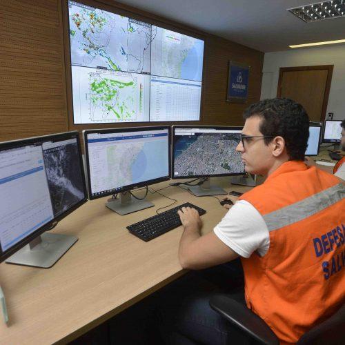 Salvador conta com moderna estrutura de monitoramento das chuvas