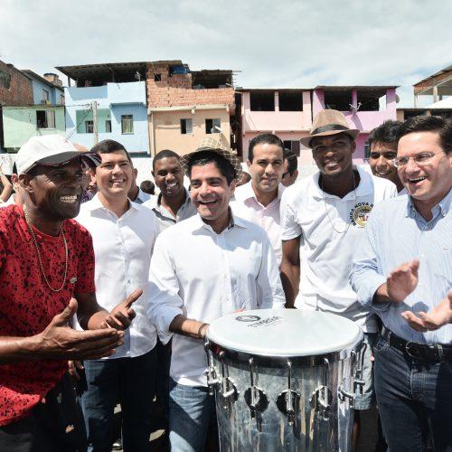 Santa Cruz comemora nova creche reconstruída pela Prefeitura