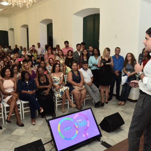 Mulher 360 reúne série de ações para transformar futuro das cidadãs em Salvador