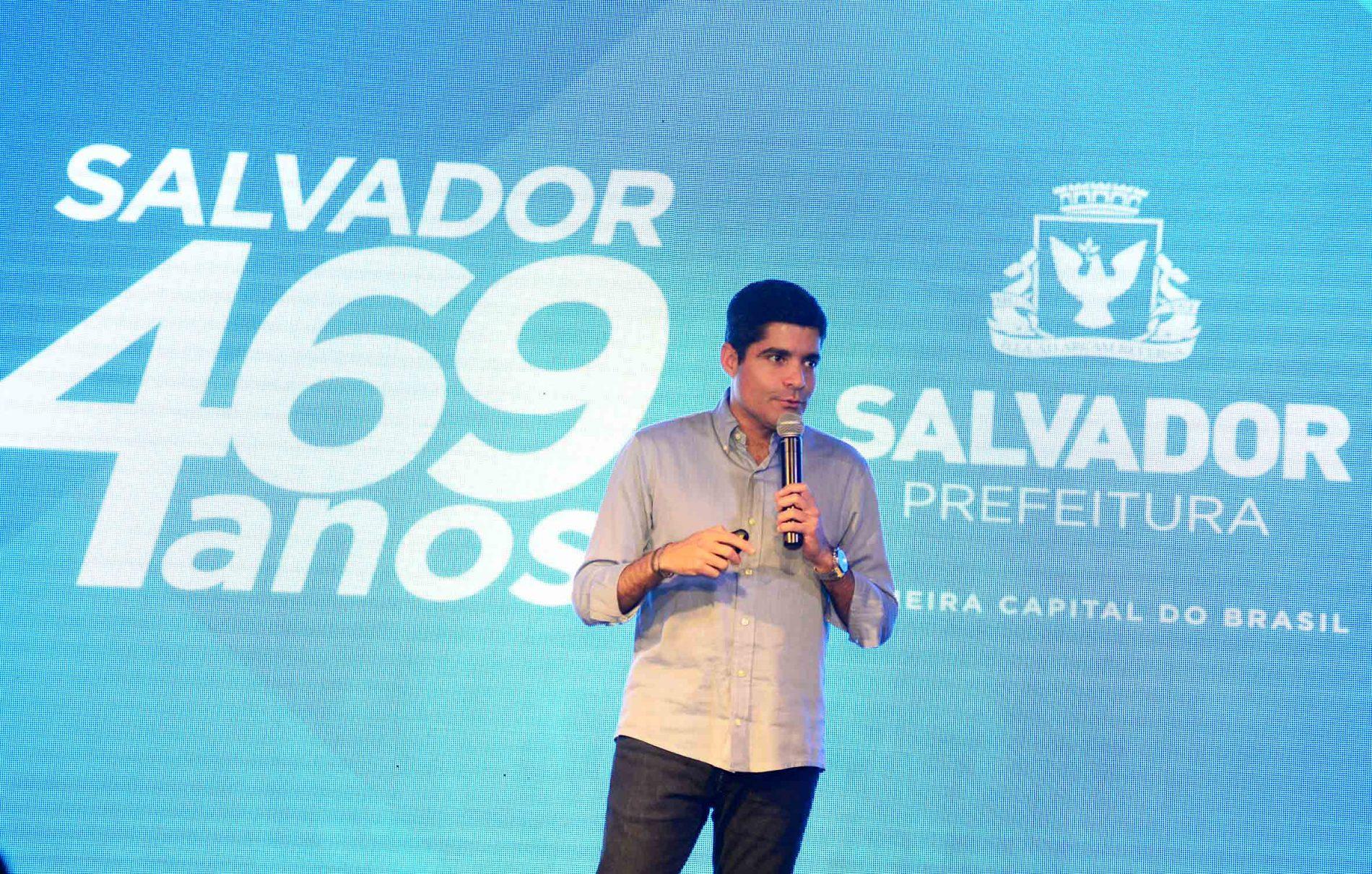 Inaugurações e investimentos marcam aniversário de 469 anos de Salvador