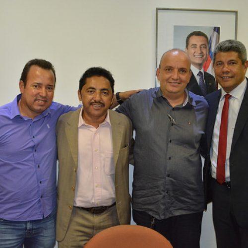 Roberto Carlos reúne prefeitos de Piripá e Novo Horizonte com secretário de Desenvolvimento Rural