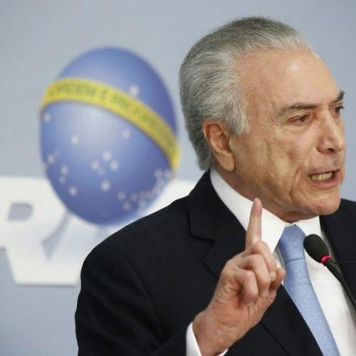 Barroso autoriza que defesa de Temer tenha acesso a relatório da PF