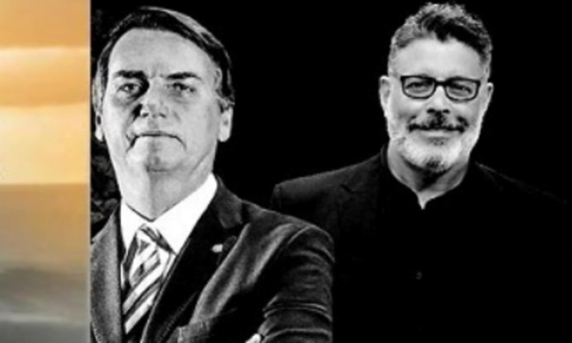 Bolsonaro diz querer Alexandre Frota como ministro da Cultura