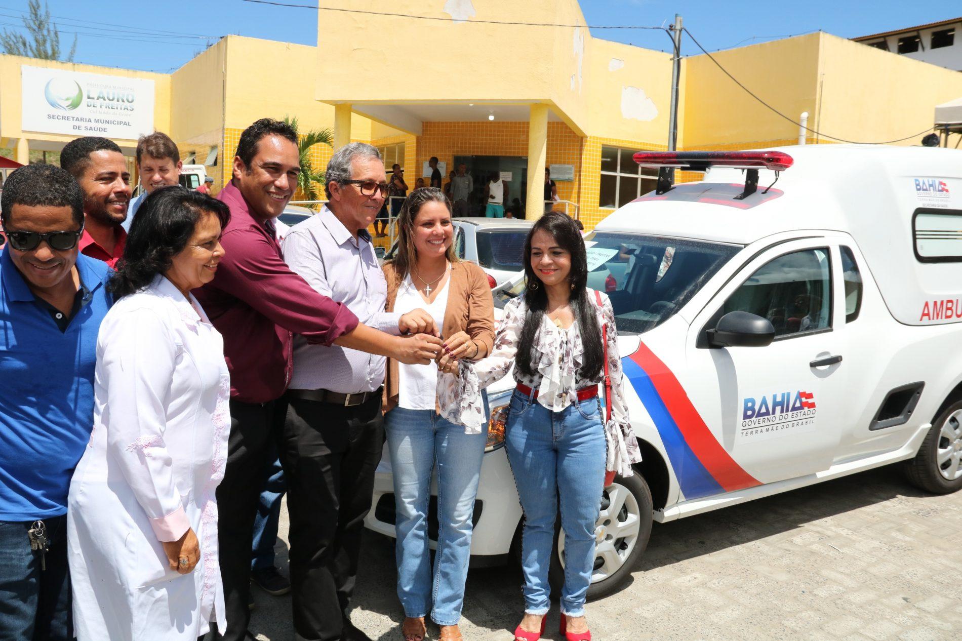 UPA da Itinga recebe ambulância para reforçar atendimento à população