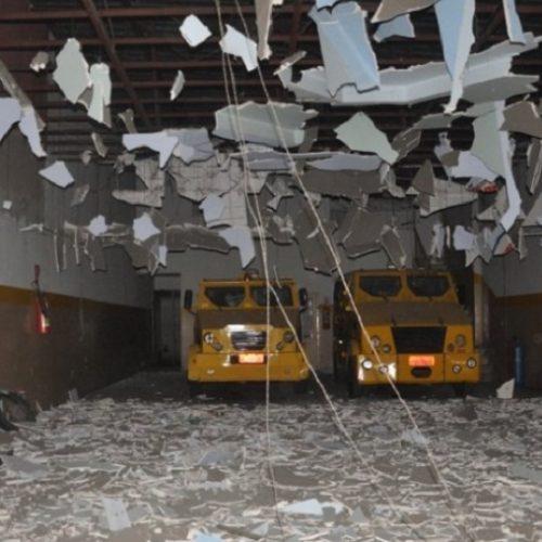 Noite de terror: bandidos explodem empresa de segurança em Eunápolis; ASSISTA