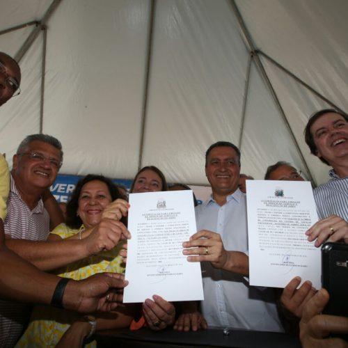 Rui autoriza início de obras de unidades de saúde no Imbuí e Jardim Armação
