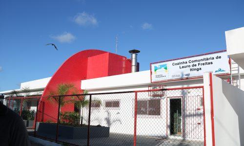 Lauro de Freitas: Prefeitura inaugura Cozinha Comunitária de Itinga na terça-feira
