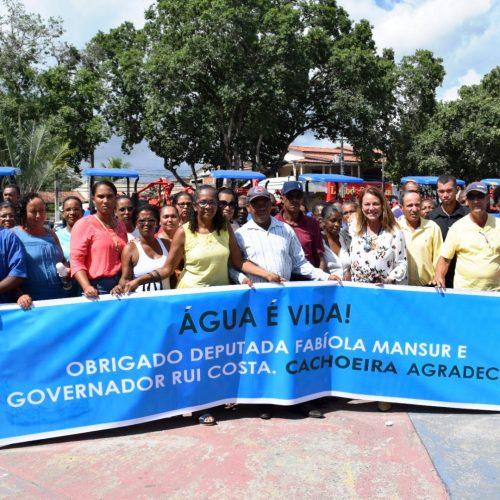Governo anuncia quase R$ 3 milhões em obras de abastecimento de água para Cachoeira