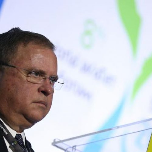 Maggi diz que 90% da água na produção agrícola no Brasil vêm de chuvas