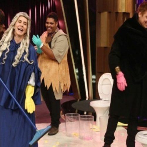 "Maitê Proença faz ""faxina"" na Record após deixar a TV Globo"