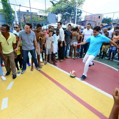 Bairro do Uruguai ganhar nova quadra e vai receber Morar Melhor