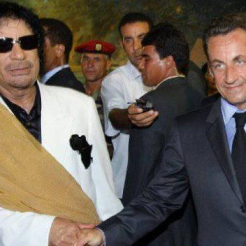 O ex-presidente francês Nicolas Sarkozy é detido