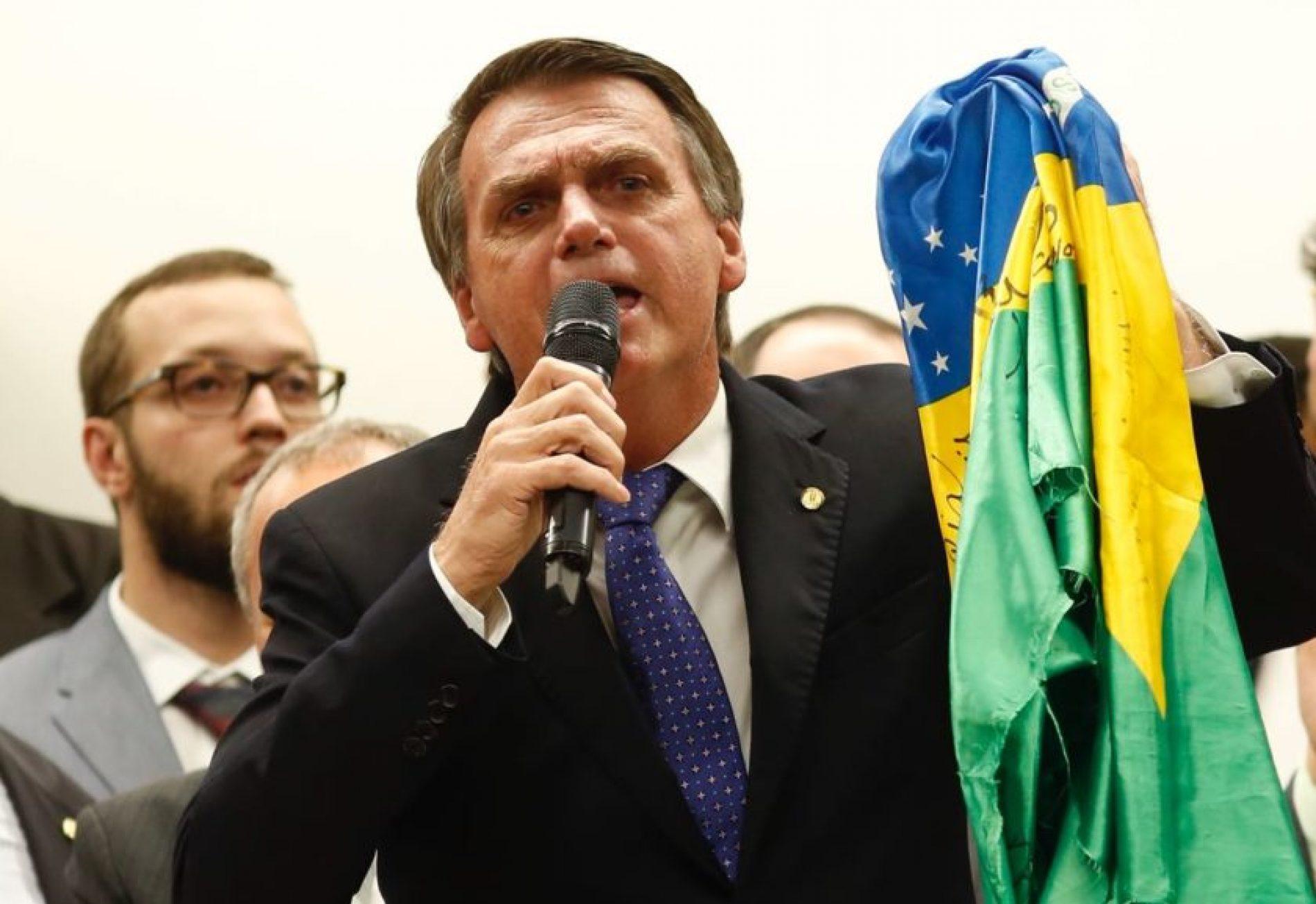 PSL realiza cerimônia de filiação para Jair Bolsonaro