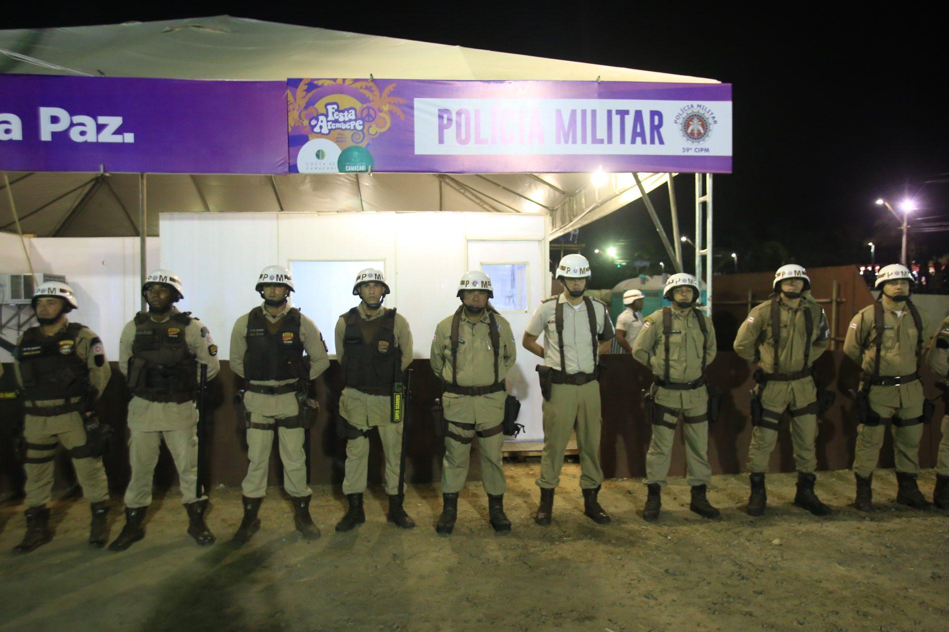 Polícia Militar garante segurança com esquema especial