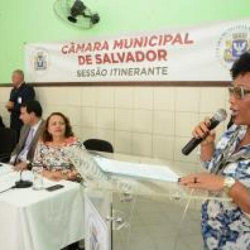 Salvador: População de Valéria participa do Câmara Itinerante