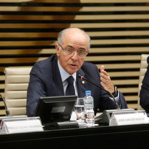 Aleluia debate reestruturação da Eletrobras na FIESP