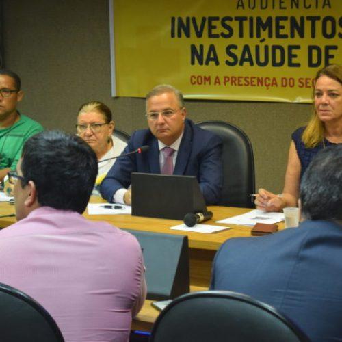 Audiência pública com secretário de saúde reúne 18 deputados