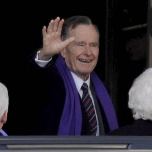 Ex-presidente George H. W. Bush é hospitalizado em estado grave