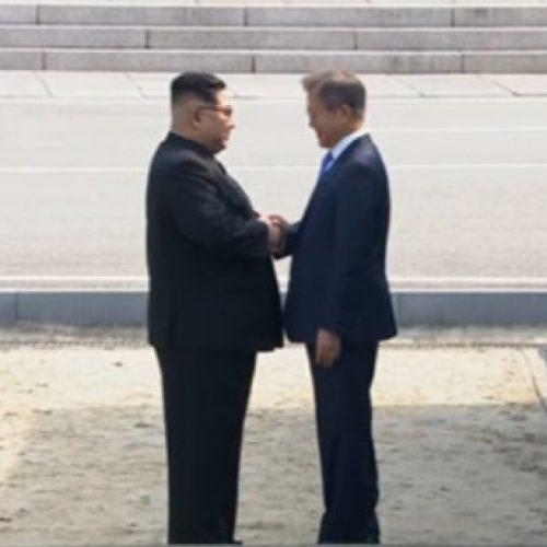 Líderes das Coreias protagonizam encontro histórico nesta quinta