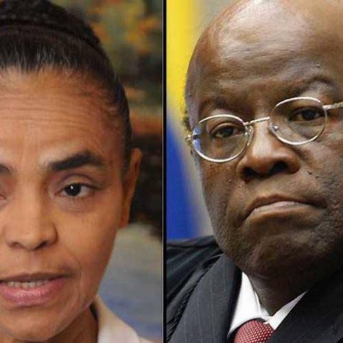 Marina Silva e Joaquim Barbosa descartam aliança em eleição
