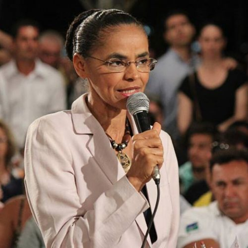 Marina Silva explica apoio a Aécio Neves em eleições de 2014