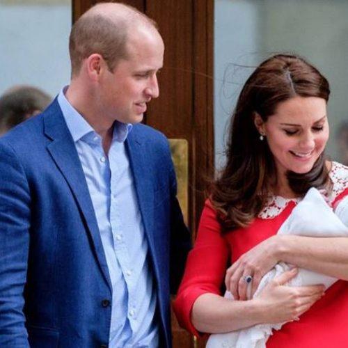 Nome do 3º filho de Kate e William é anunciado