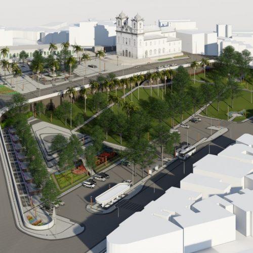 Prefeitura inicia obras de requalificação da Colina Sagrada nesta sexta